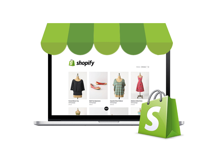 Shopify Ecommerce website & Development Company